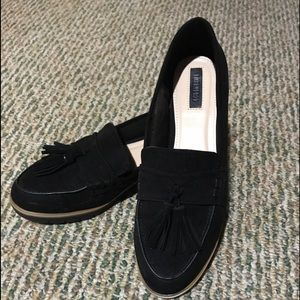 Forever 21 Black Loafers.